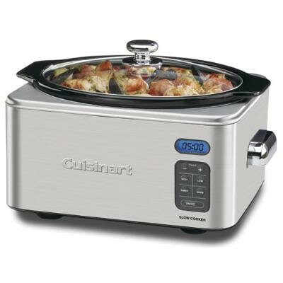 Cuisinart 6.5 Qt. Slow Cooker in Brushed Stainless