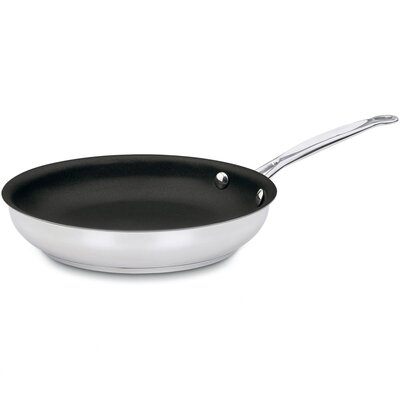 "Cuisinart Chef's Classic Stainless Steel 10"" Nonstick Skillet"