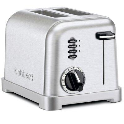 2-Slice Metal Classic Toaster