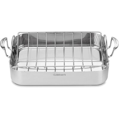 Cuisinart MultiClad Pro Triple-Ply Stainless Steel Roasting Pan