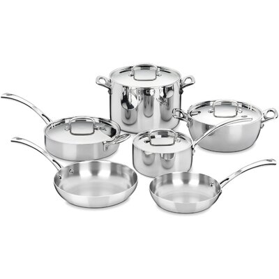 Cuisinart French Classic Stainless 10-Piece Cookware Set