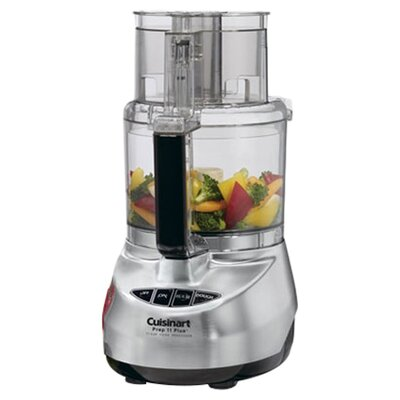 Prep Plus 11-Cup Food Processor in Brushed Stainless