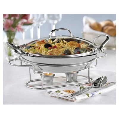 Cuisinart Round Buffet Server in Stainless Steel