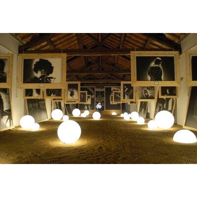 Slide Design 1/2 Globo Geoline Outdoor Floor Lamp