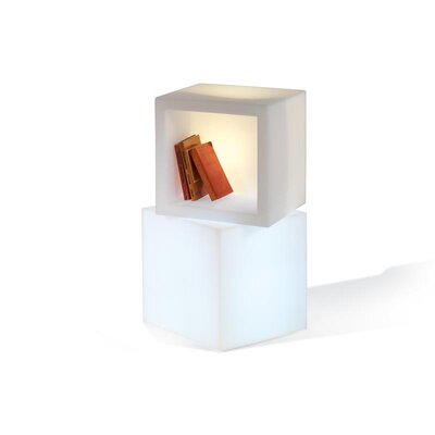 Slide Design Open Cube Table Lamp