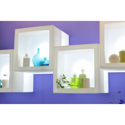 "Slide Design Open Cube 28.8"" H Table Lamp"