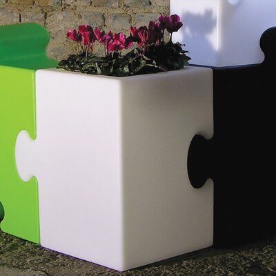 Slide Design Puzzle Corner Floor Lamp