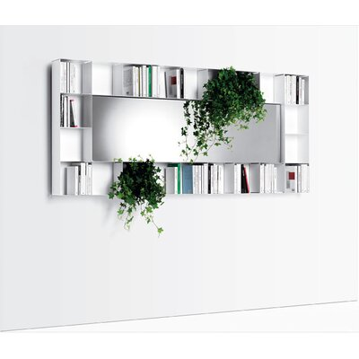 Opinion Ciatti Bel.Vedere Hrizontal or Vertical Bookshelf with Mirror