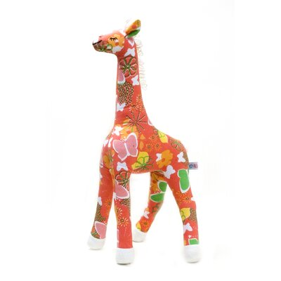 Allen Ave Color Zoo Grady the Giraffe Stuffed Toy