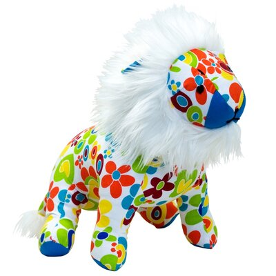 Allen Ave Color Zoo Lee the Lion Stuffed Toy