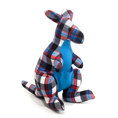 Allen Ave Color Zoo Kacy the Kangaroo Stuffed Toy