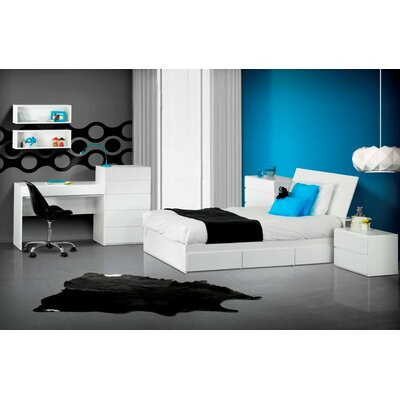 Nexera BLVD Storage Headboard
