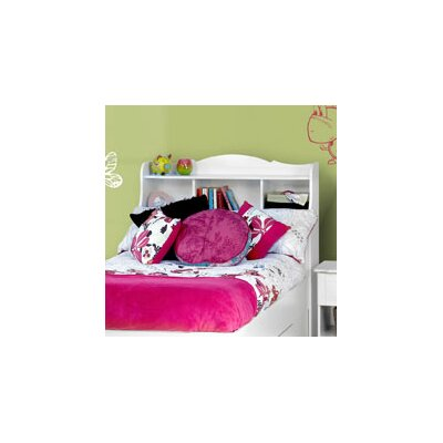 Nexera Dixie Bookcase Headboard