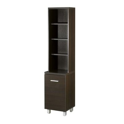 Nexera Element Tall Bookcase/Audio Rack