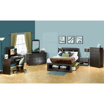Nexera Dixon Bookcase Captain Bedroom Collection