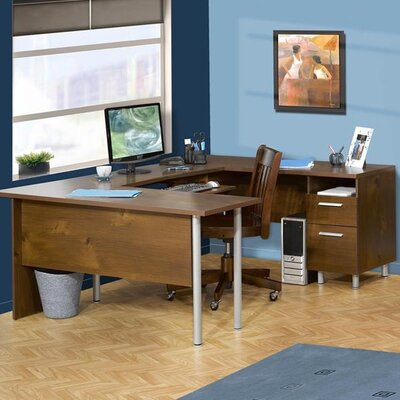 Nexera L-Shape Executive Desk