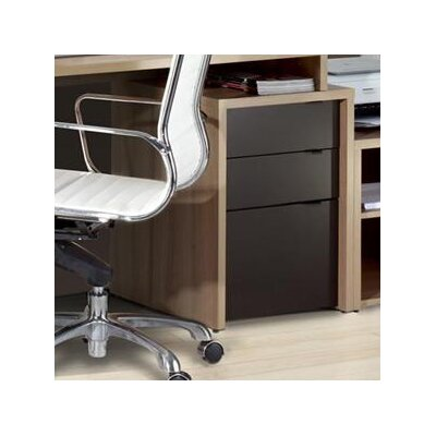 Nexera Infini-T 3-Drawer File Cabinet