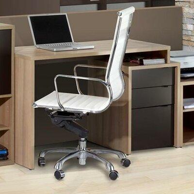 Nexera Infini-T 3 Drawer Computer Desk