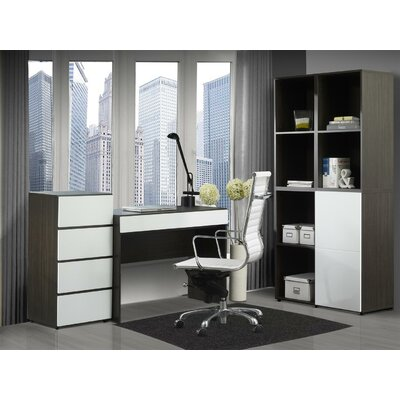 Nexera Allure Standard Desk Office Suite