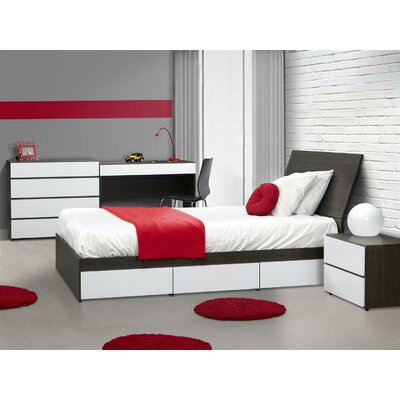 Nexera Allure 4 Drawer Dresser