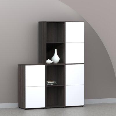 "Nexera Allure 36"" Storage Cabinet in Ebony"