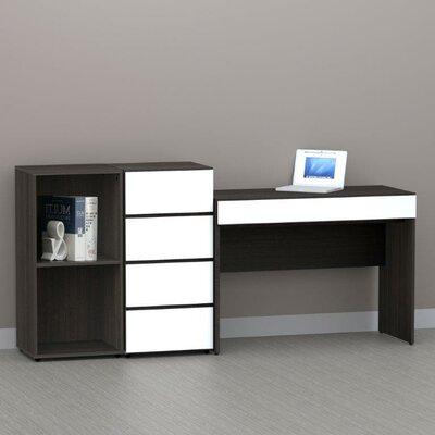 Nexera Allure Computer Writing Desk