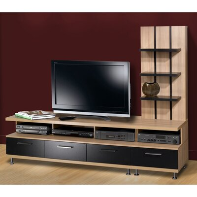 Nexera Eclipse 2 Piece Entertainment Center