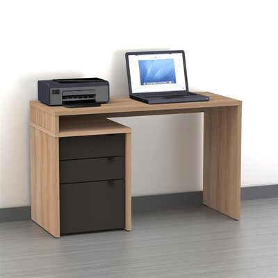 Nexera Infini-T 3 Drawer Computer Desk