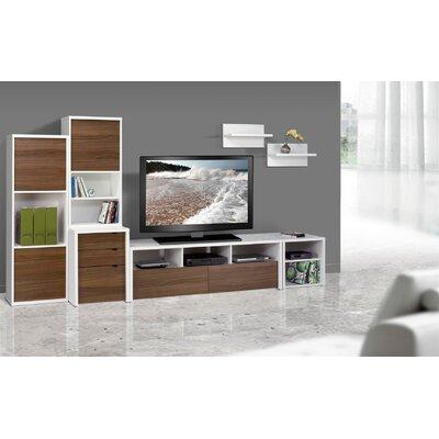 Nexera Liber-T Wall Shelf (Set of 2)