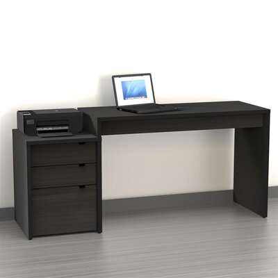 Nexera Sereni-T Standard Desk Office Suite