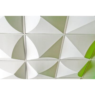 Mio Culture FoldScapes Bloom Drop Ceiling Tiles (24 Pack)