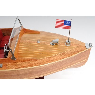 Old Modern Handicrafts Chris Craft Runabout