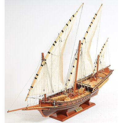 Old Modern Handicrafts Xebec Sailing Ship