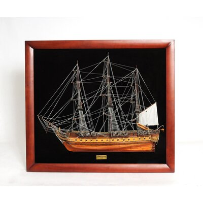 Old Modern Handicrafts USS Contitution Half  Ship
