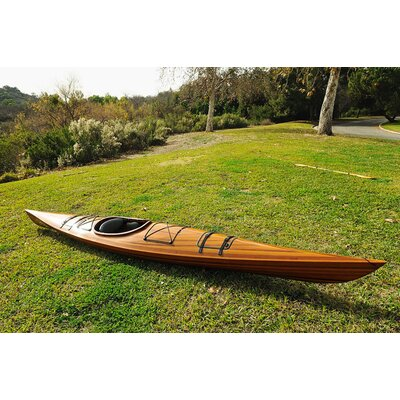 Old Modern Handicrafts One Person Real Kayak 17 Canoe