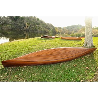 Old Modern Handicrafts Real Canoe 18