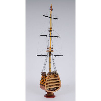 Old Modern Handicrafts Hms Victory Cross Section