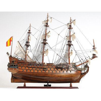 Old Modern Handicrafts Medium San Felipe Ship