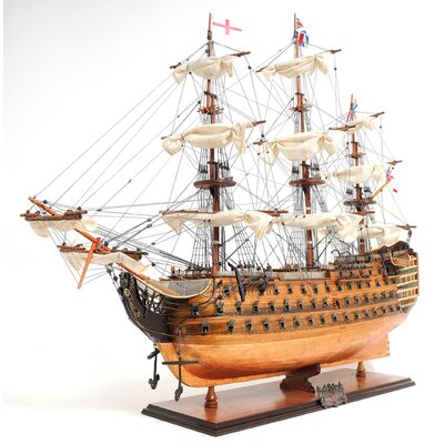 Old Modern Handicrafts Hms Victory Copper Bottom Ship