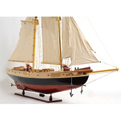 Old Modern Handicrafts Medium Bluenose Ii Painted Boat