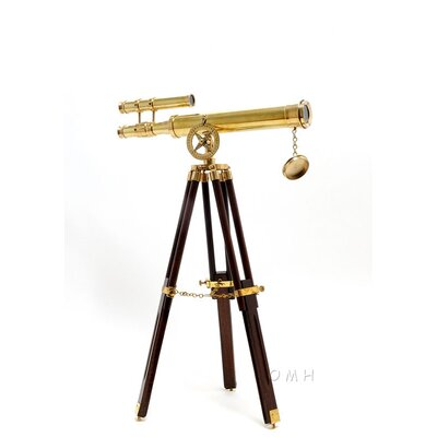 Old Modern Handicrafts 18&quot; Telescope with Stand