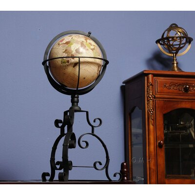 Old Modern Handicrafts Globe on Tristand