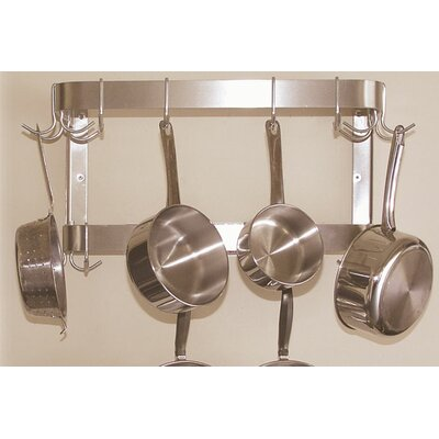 Wall Mounted Double Bar Pot Rack