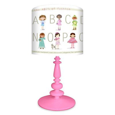 Oopsy Daisy The ABC's of Fashion Table Lamp