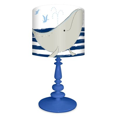 Oopsy Daisy It's a Small World Whale of Tale Table Lamp