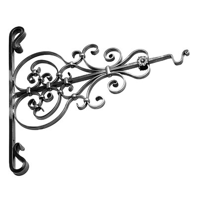 DJA Imports Ornate Steel Sign Holder