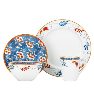 Spanish Botanica 4 Piece Place Setting