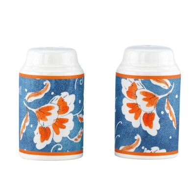 Kathy Ireland by Gorham Spanish Botanica Salt and Pepper Shaker Set