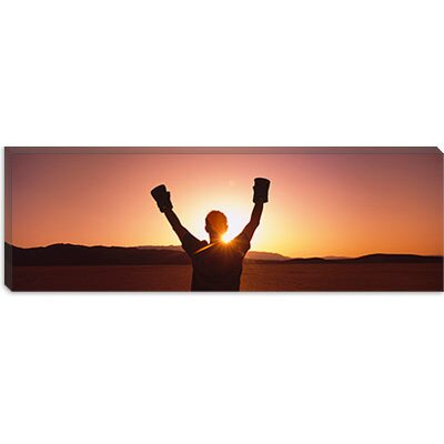 iCanvasArt Black Rock Desert, Nevada Canvas Wall Art