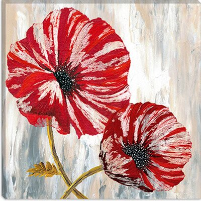 iCanvasArt Red Poppies I from Willow Way Studios, Inc collection Canvas Wall Art